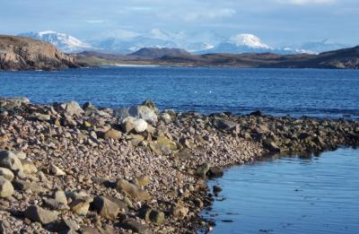The Sea channel to Reiff Loch