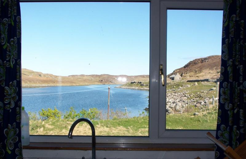 View From Kitchen Sink